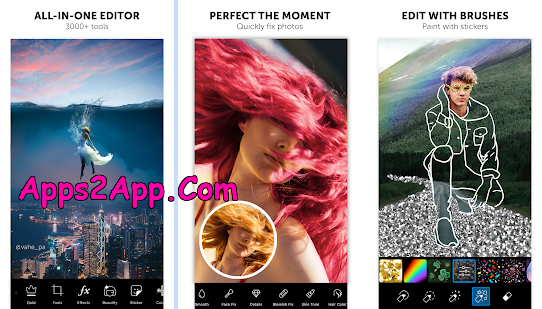 PicsArt Photo Editor: Pic, Video & Collage Maker PRO Mod APK v15.0.3 Cracked [Gold Unlocked] [Latest]