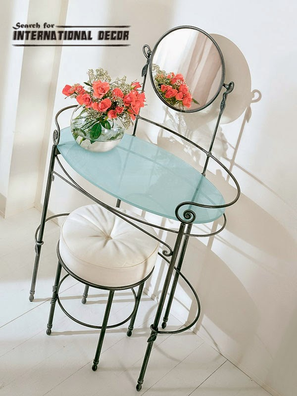 Dressing table,wrought iron dressing table,dressing table mirrors