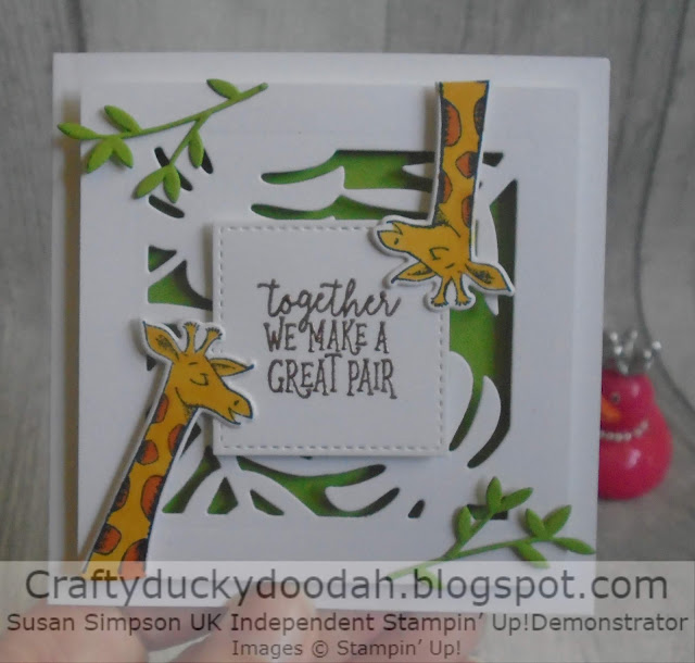 Craftyduckydoodah, Animal Outing, #JOSTTT008, Supplies available 24/7 from my online store, Stampin' Up! UK Independent  Demonstrator Susan Simpson,