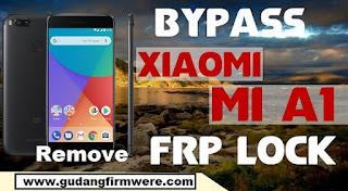 Xiaomi Mi A1 Lupa Akun