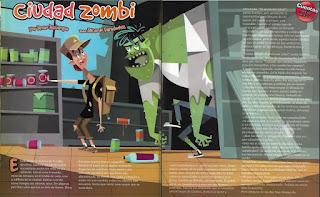 Ciudad zombi, publicado en Billiken