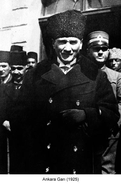 Atatürk Ankara Garı 1925 Fotoğraf