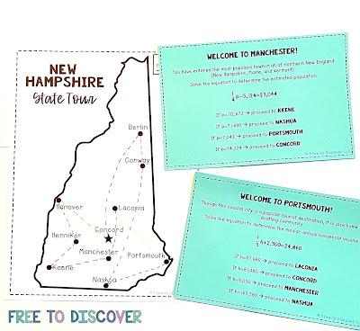 nh state tour scavenger hunt