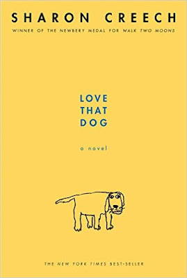 http://www.amazon.com/Love-That-Dog-Sharon-Creech/dp/0064409597/ref=sr_1_1?ie=UTF8&qid=1454968321&sr=8-1&keywords=love+that+dog
