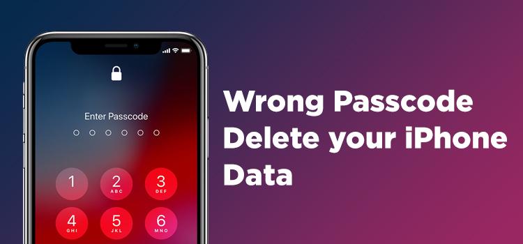 Iphone Delete Data