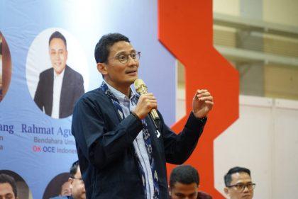 Sandiaga Uno Optimis Ekonomi Indonesia Membaik Pada Kuartal Ketiga