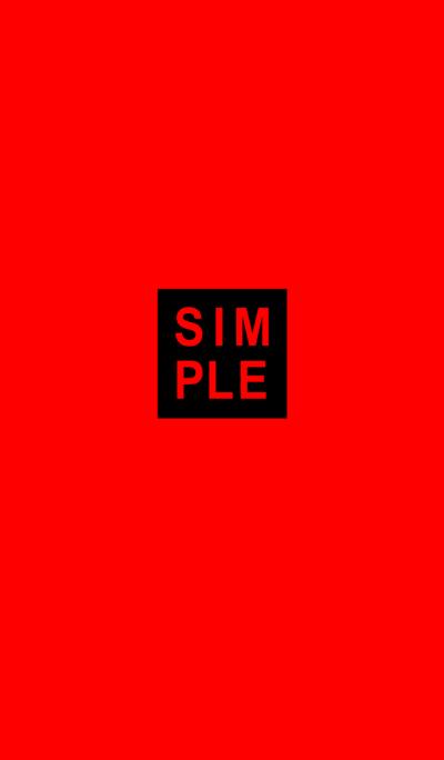 SIMPLE SEAL(black red)V.13