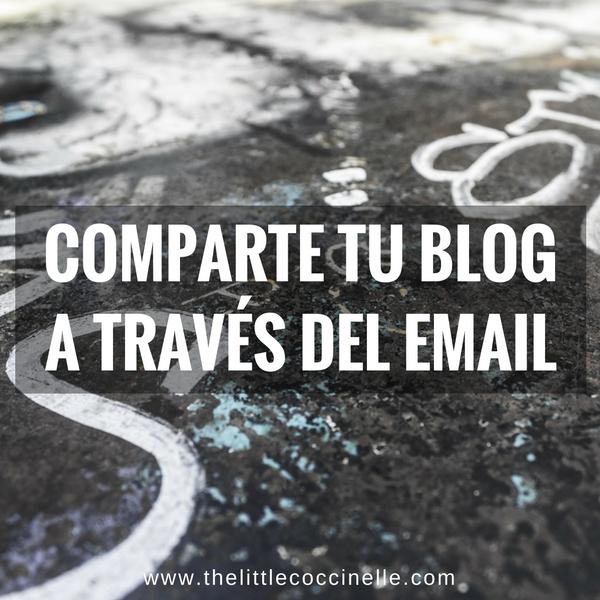blog compartir email