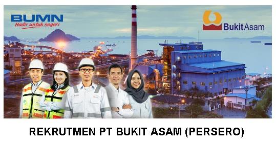 Lowongan Kerja Terbaru PT Bukit Asam Tbk (Persero)