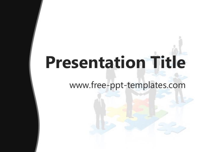 Black Business PPT Template