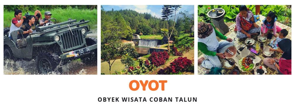 OYOT - Obyek Wisata Coban Talun Batu