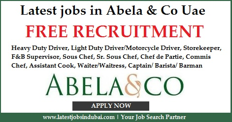 Latest jobs in Abela & Co Uae
