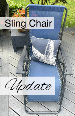 Sling chair update pin