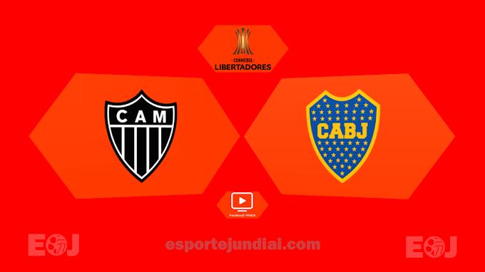 ASSISTA Atlético-MG x Boca Juniors pela volta das oitavas de final da Libertadores (Facebook Watch)