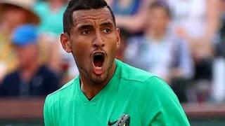 Kyrgios topples defending champ Djokovic at Indian Wells
