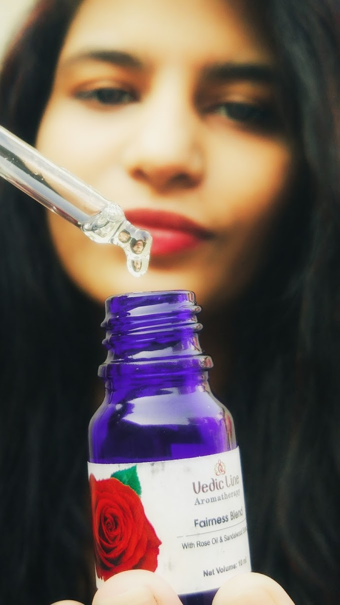 How To Make Your Skin Healthy & Glowing Using One Product.Ft.Vedic Line Face Serum