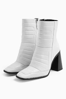 MILLENIAL White Leather Boots
