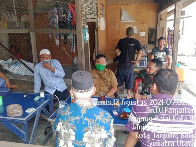 Dengan Cara Komsos Himbau Warga Patuhi Protkes Dilakukan Personel Jajaran Kodim 0208/Asahan