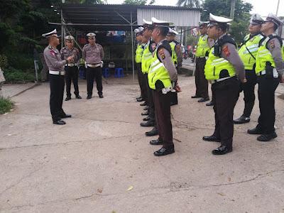 Razia, Satlantas Polresta Jambi Tilang 41 Pengendara