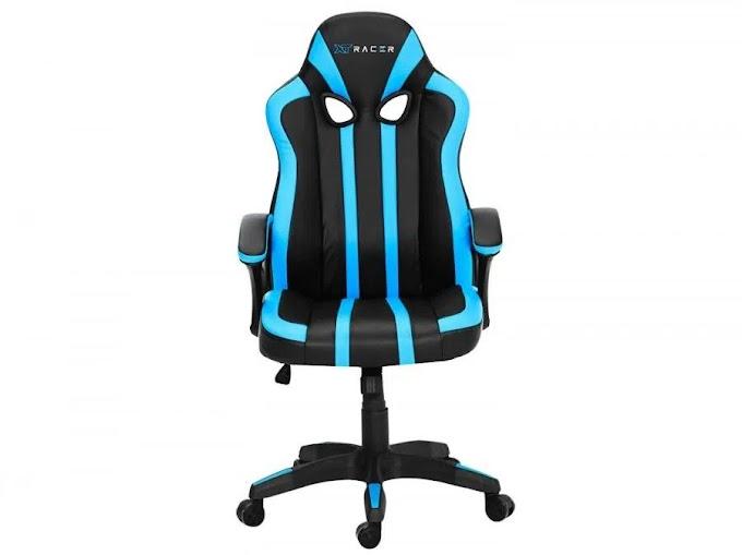 Cadeira Gamer XT Racer Reclinável Preta e Azul - Force Series XTF110