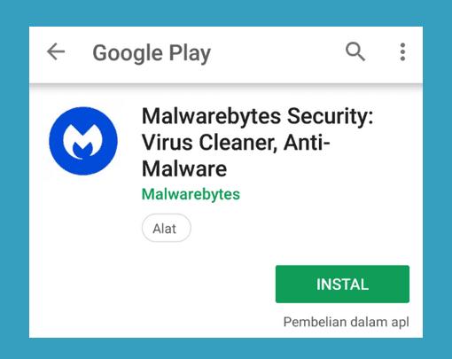 MalwareBytes Playstore Android
