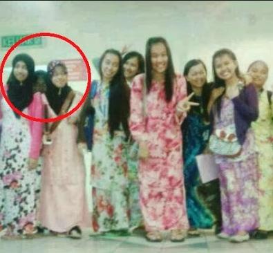 Foto Penampakan Hantu Juga ikut Selfie