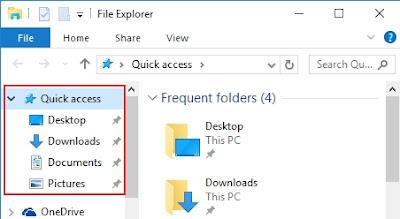 Cara Membersihkan Quick Acces Pada Windows 10, pengertian quick Acces, cara kerja quick Acces, apa yang dimaksud quick Acces, cara membersihkan quick Acces pada komputer