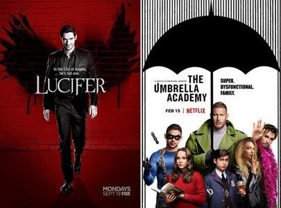 Séries vues en août - Lucifer / Umbrella Academy
