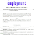 Example contracts of employment