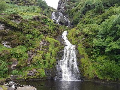 Assaranca waterfall Ireland