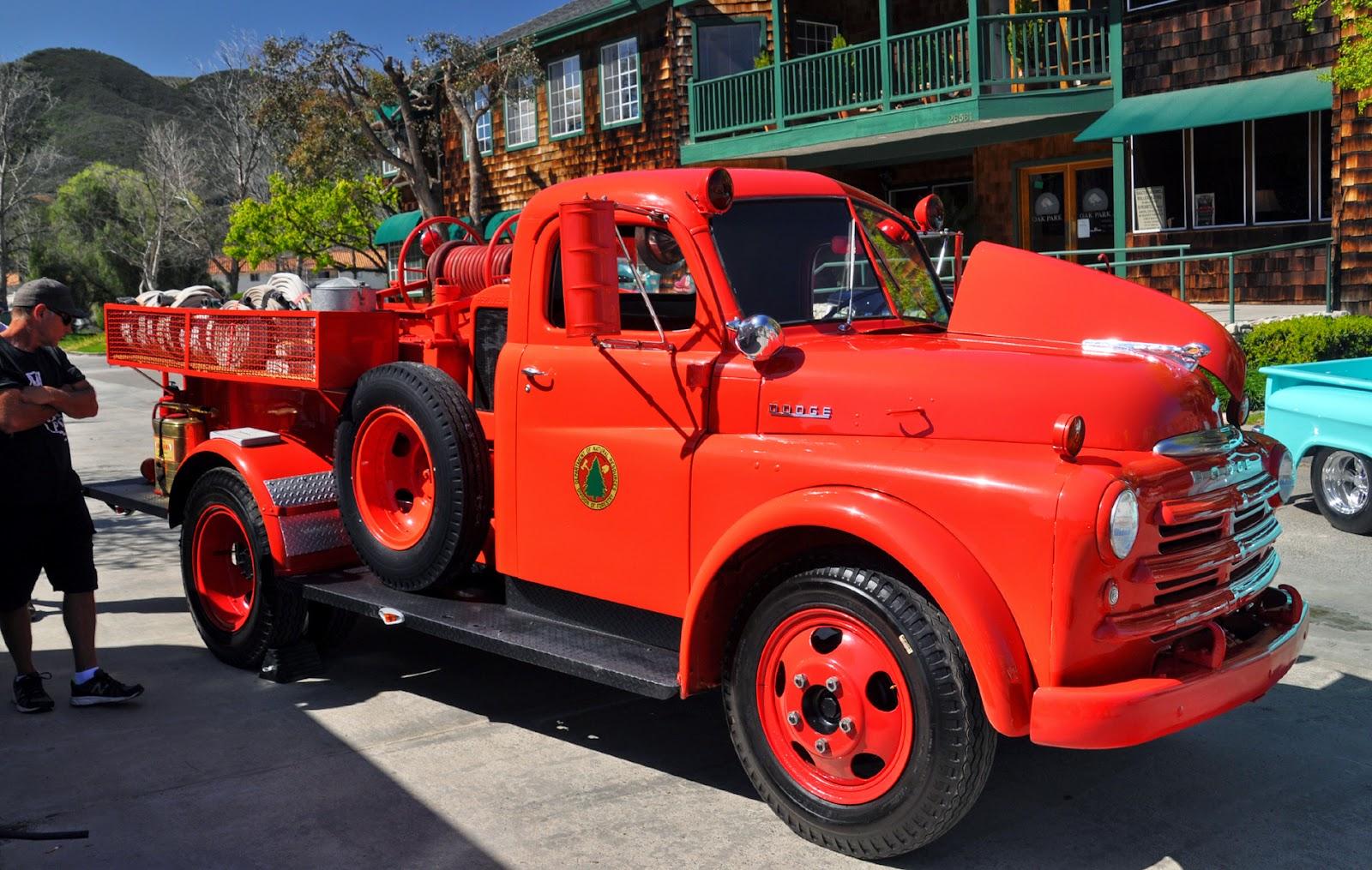 Just A Car Guy Dodge Fire Truck