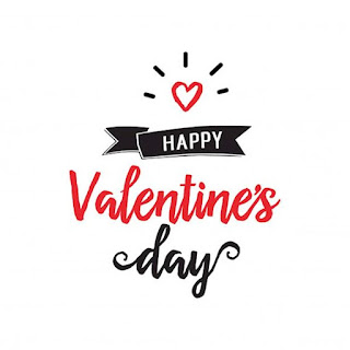 Gambar template background kartu ucapan valentine 14 febaruari