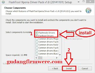 Download Tool Flash Sony Xperia dan Juga Driver,