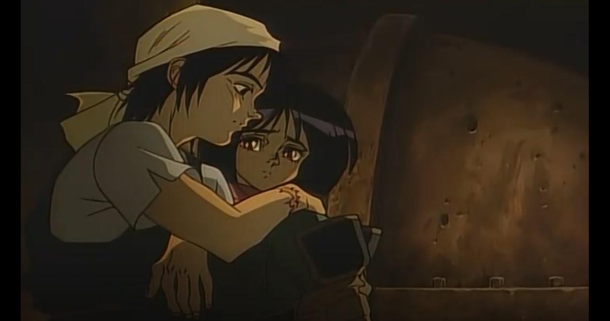 Alita and Yugo of Battle Angel Alita (Gunnm)