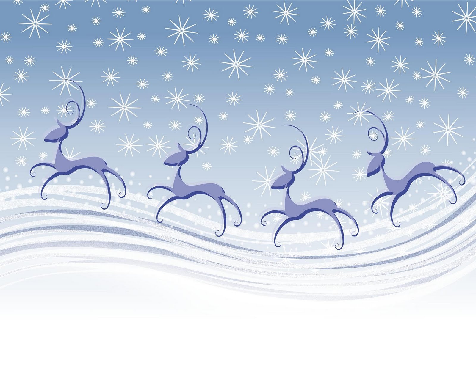 Ppt Wallpapers Animations Background Collections Reindeer Wallpaper