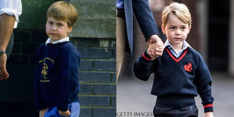 Pais e filhos famosos na mesma idade