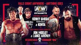Repetición AEW Dynamite - 10 De Febrero 2021 Full Show