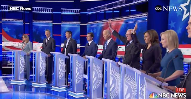 Harris soars at debate, as Democrats' fault lines trip up Biden