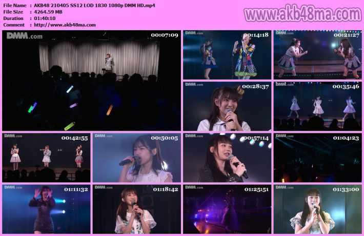 210405 AKB48「僕の夏が始まる」公演