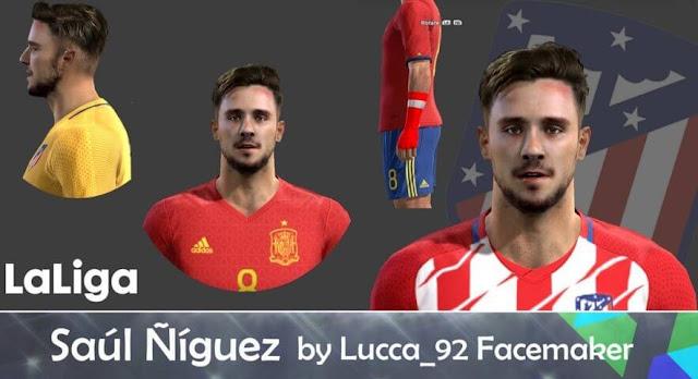 Saúl Ñíguez Face PES 2013