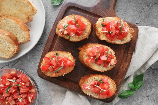 Easy Homemade Bruschetta Recipe