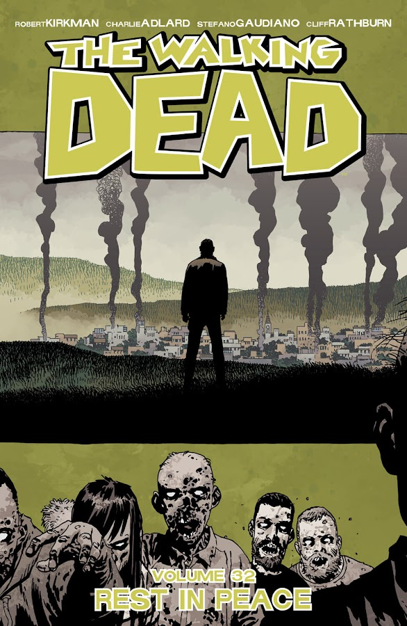 the walking dead rest in peace image comics robert kirkman charlie adlard zombie-apocalypse saga