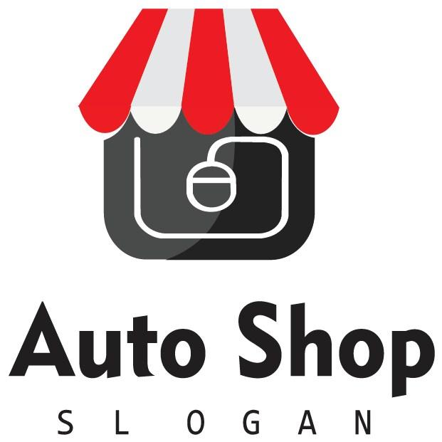 graphic design business logo ONLINE SHOP 12