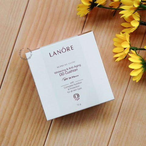 [REVIEW] Lanore Supreme Glow Whitening & Anti Aging DD Cushion - 02 Beige*