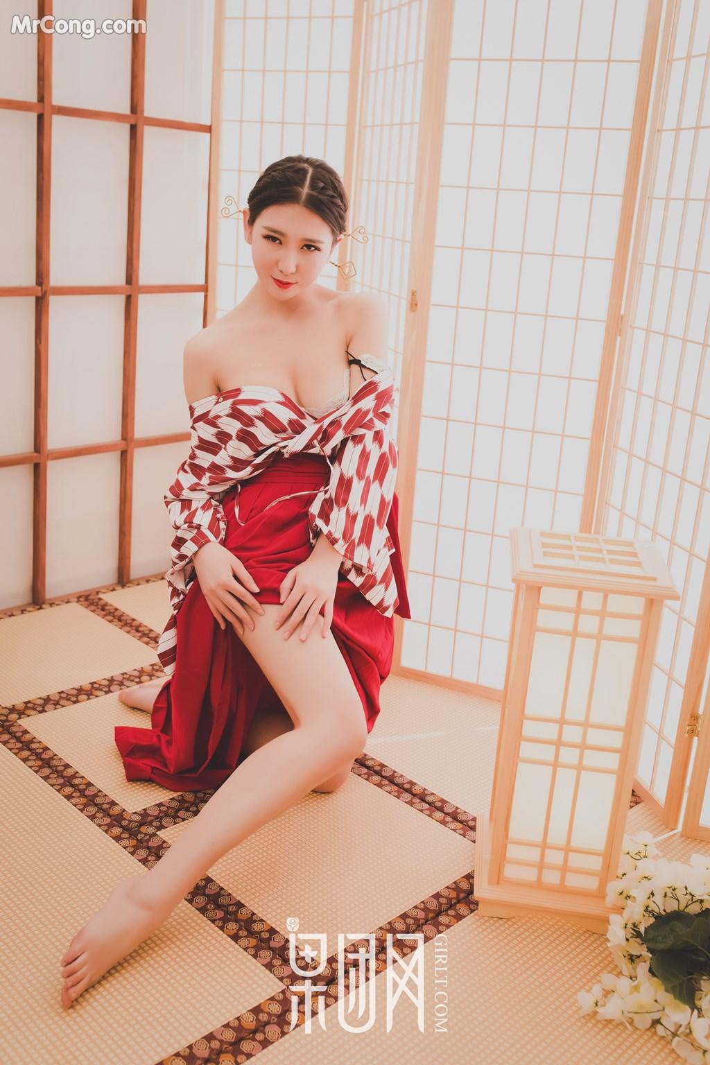Image GIRLT-No.115-MrCong.com-006 in post GIRLT No.115 (51 ảnh)