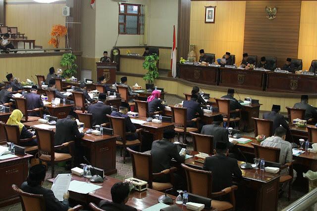 Ketua Pansus Sampaikan Hasil Pembahasan Terhadap Raperda