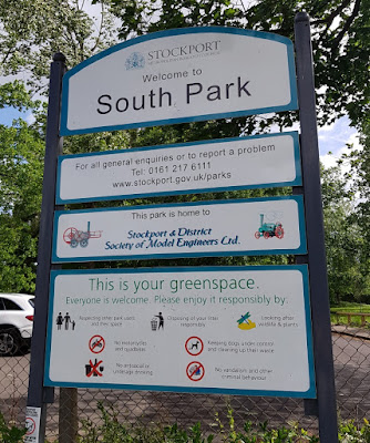 South Park is home to Stockport & District Society of Model Engineers