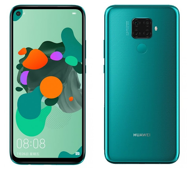 Huawei Mate 30 Lite front and back