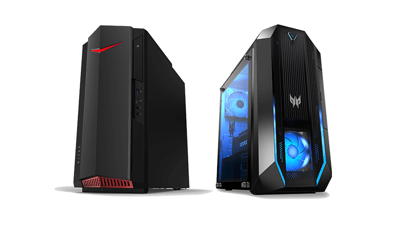 Acer updates Predator Orion, Nitro Gaming PCs with latest Intel and AMD processors