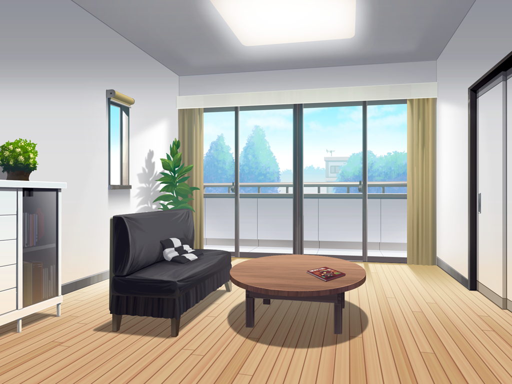 Room Background Anime Landscape: Room (anime Background)